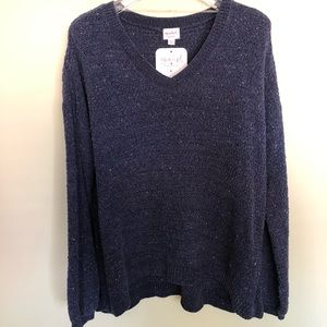 NWT ISABEL Maternity | Navy Speckled Sweater